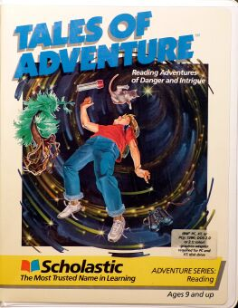 Tales of Adventure: Adventures in the Microzone and Northwoods Adventure (Scholastic) (IBM PC)
