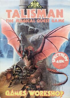 Talisman: The Magical Quest Game (boxed) (Games Workshop) (ZX Spectrum)