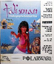 Talisman: Challenging the Sands of Time (Apple II) (Contains Hint Sheet)