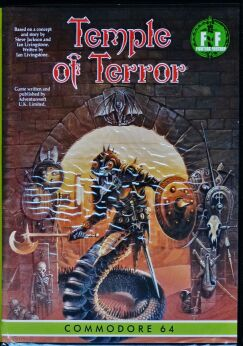 Fighting Fantasy: Temple of Terror (Adventuresoft) (C64) (Disk Version)