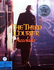 Third Courier, The (Accolade) (IBM PC)