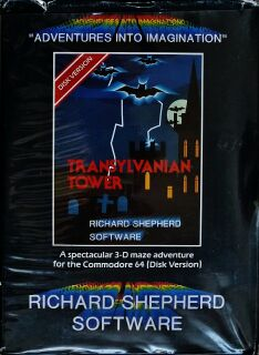 Transylvanian Tower (Richard Shepherd Software) (C64) (disk Version)