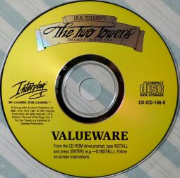Two Towers (Valueware) (Interplay) (IBM PC) (missing box)