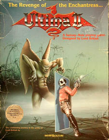 Ultima II: Revenge of the Enchantress (Sierraventure) (IBM PC)