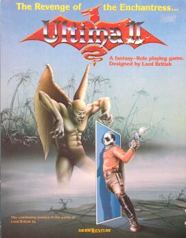 Ultima II: Revenge of the Enchantress (Sierraventure) (Apple II)