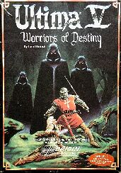 Ultima V: Warriors of Destiny (Apple II) (Contains Alternate Variations, Clue Book, Clue Book (B & W cover), T-Shirt, Official Completion Certificate)