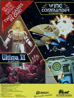 Ultima VI: the False Prophet and Wing Commander (Software Toolworks) (IBM PC)