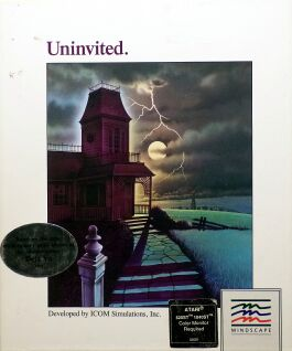 Uninvited (Folio) (Atari ST)