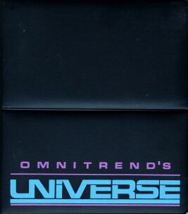 Universe (Binder) (Omnitrend) (Apple II) (Contains Complete Products Guide)