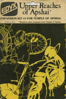 Upper Reaches of Apshai (Blister Pack) (TRS-80)