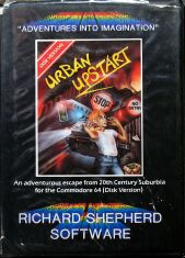 Urban Upstart (Richard Shepherd Software) (C64) (disk Version)