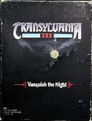 Transylvania III: Vanquish the Night (IBM PC)