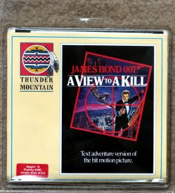 View to a Kill, A (Thunder Mountain) (Apple II)