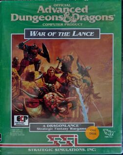 War of the Lance (Clamshell) (Amiga)