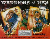 Warriors of Ras (C64) (Cassette Version)