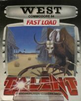 West (Boxed) (Talent Computer Systems) (C64)