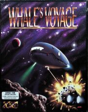 Whale's Voyage (Flair Software) (Amiga) (Contains Hint Sheet)
