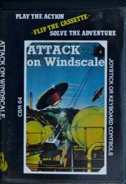 Attack on Windscale (Phoenix Software) (C64) (missing panic packet envelope) (Contains Panic Packet)
