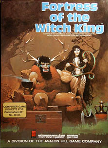 Fortress of the Witch King (C64)