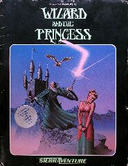 Wizard and the Princess (Sierraventure) (Atari 400/800)