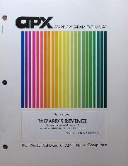 Wizard's Revenge (Atari Program Exchange) (Atari 400/800)