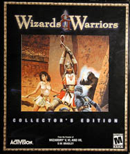 Wizards & Warriors (Collector's Edition) (IBM PC) (Contains Hint Book, Official Strategy Guide)