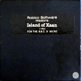 Island of Xaan (Robico) (BBC Model B) (missing manual)