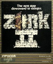 Zork II (Kaypro) (Contains InvisiClues Hint Book, Map)
