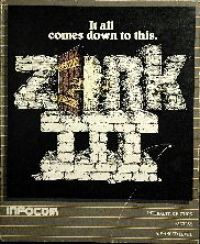 Zork III (Apple II) (Contains InvisiClues Hint Book, Map)