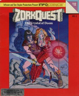 Zork Quest: The Crystal of Doom (C64)